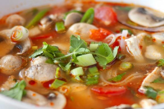 Tom Yum Noodle Soup
